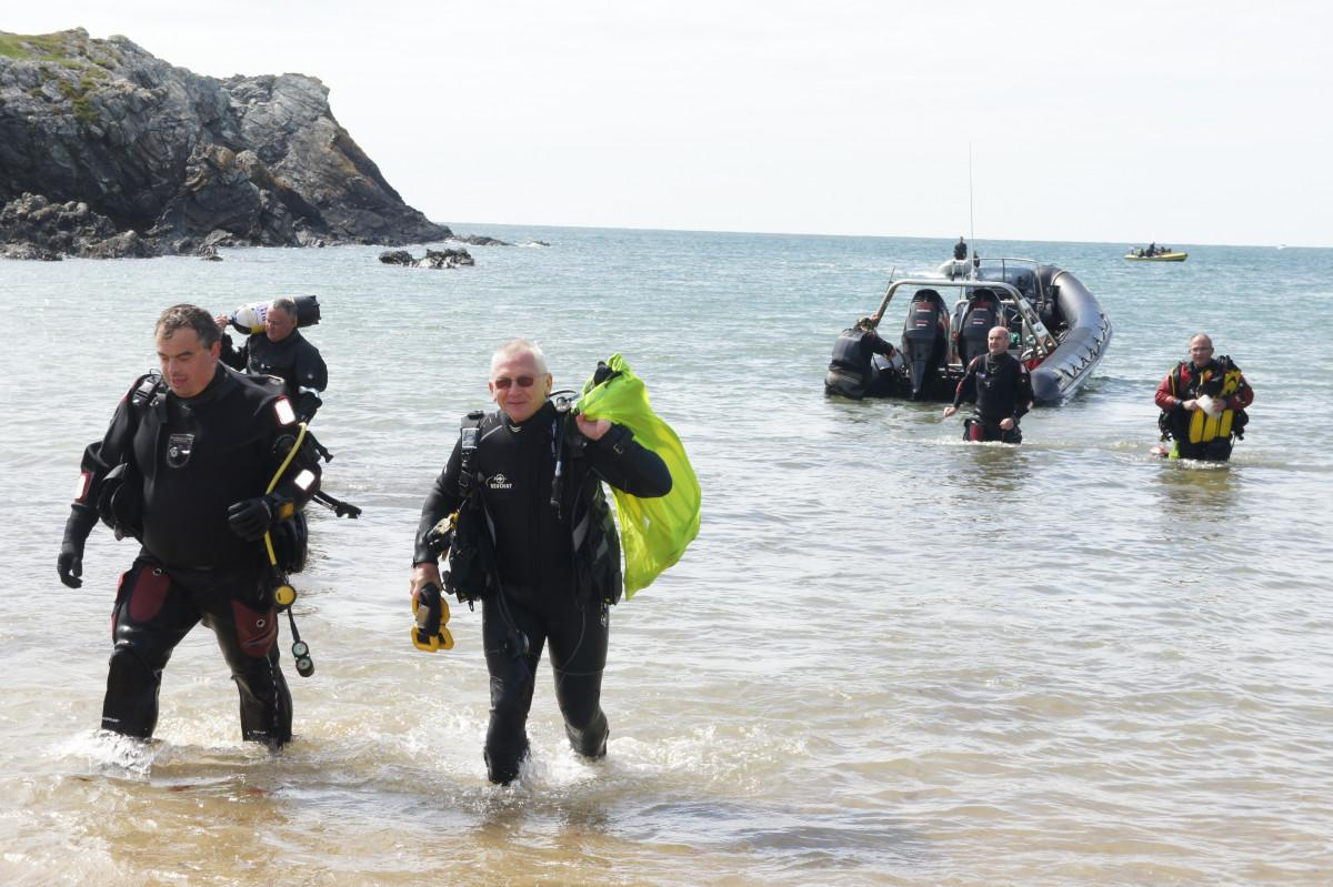 Diving from a RIB Top Tips