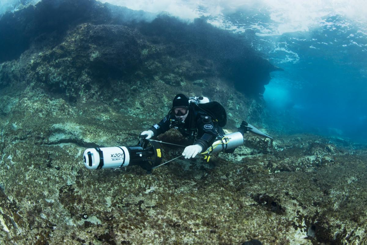 Crossing the Divide – Diving in Malta