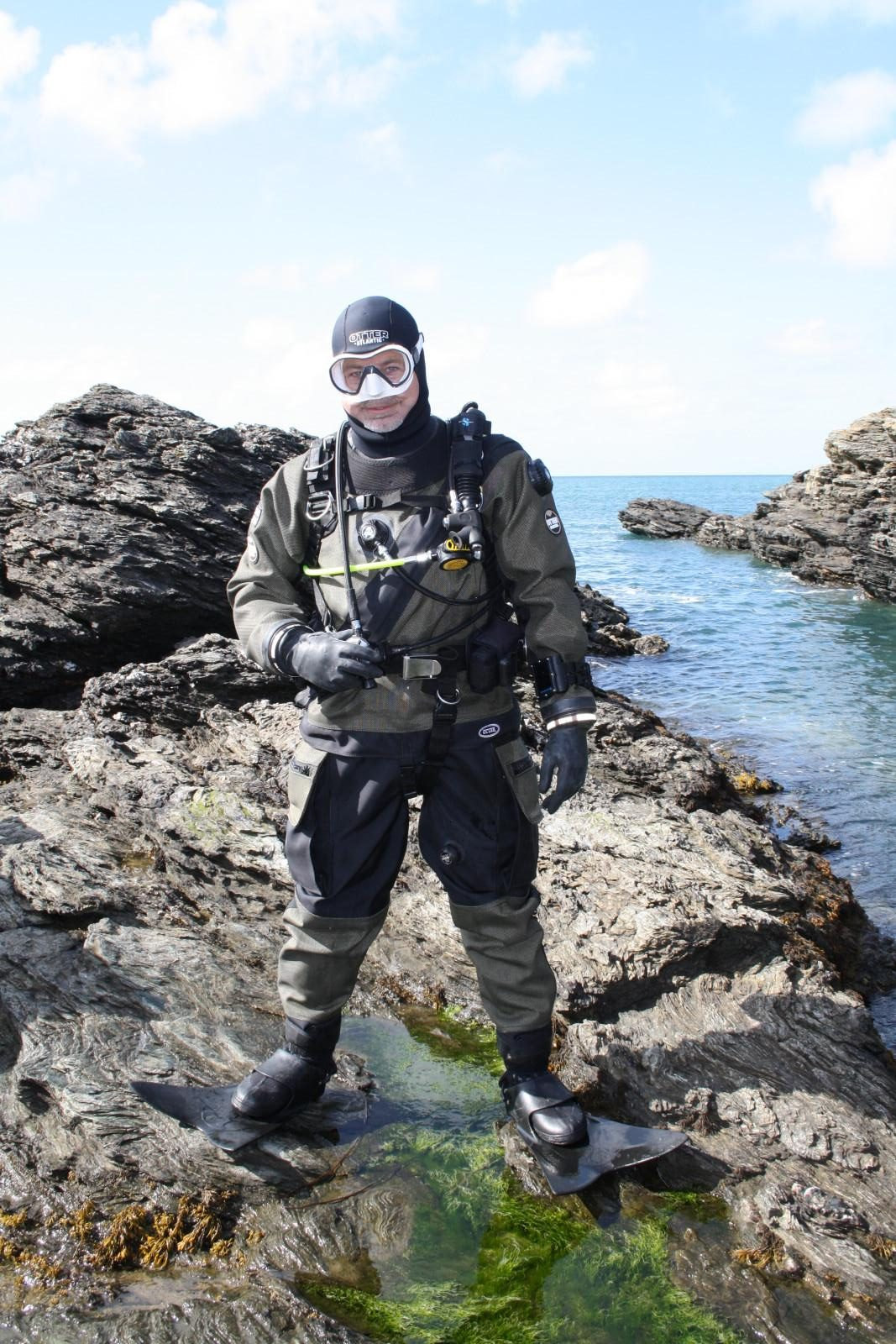 Otter Watersports Atlantic HD Kevlar Drysuit - Scuba Diving Equipment test