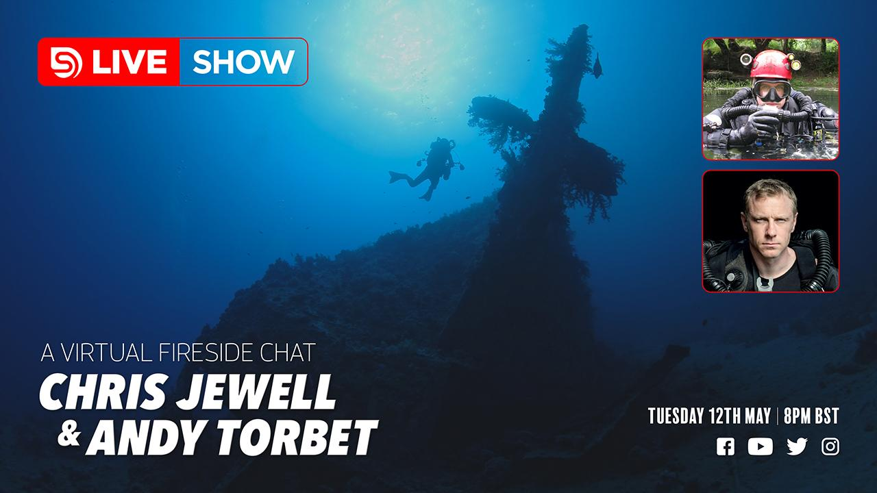 Chris Jewell, Andy Torbet, Scuba Diver Live