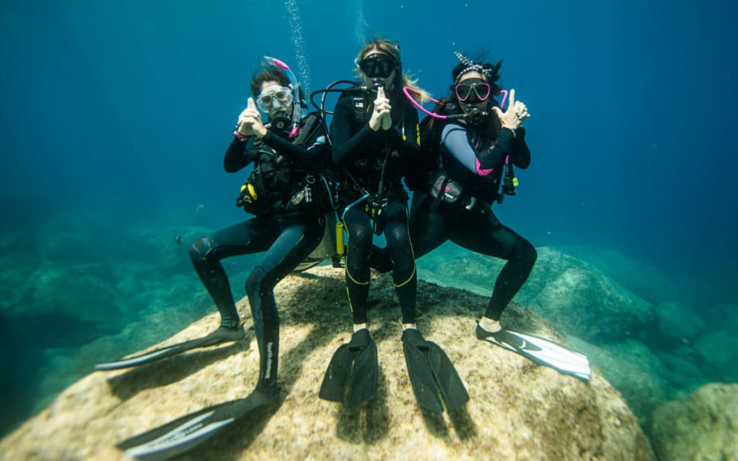 PADI Womens Dive Day 2020