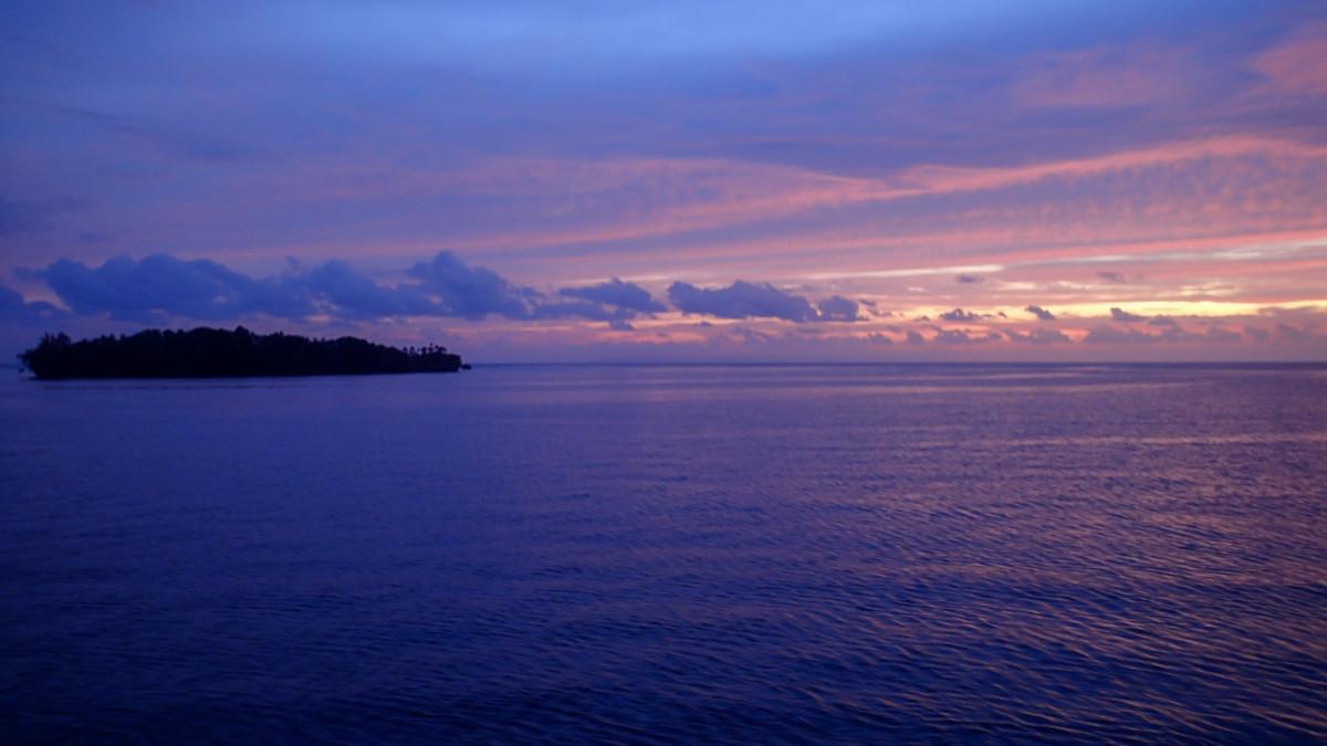 Impressive reefs of the Solomon Islands