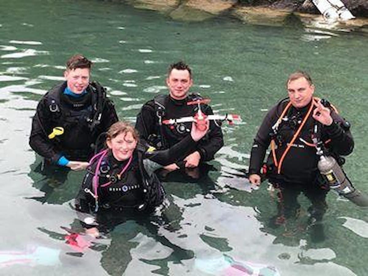 underwater Lego challenge
