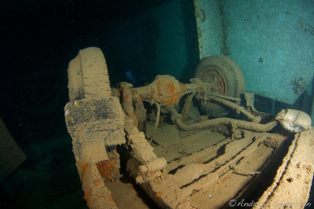 Amazing Fiji Wreck Diving
