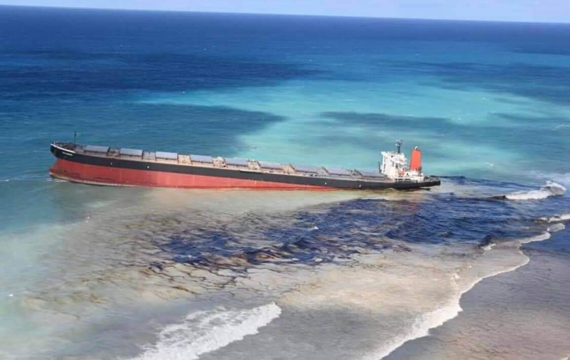 Mauritius Oil Spill: MV Wakashio Breaks Apart