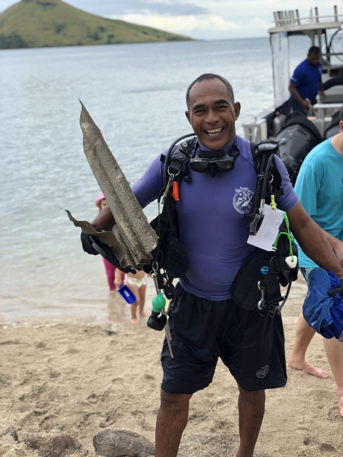 Fiji's ONLY Blue Oceans Dive Centre, Amazing Achievement for Volivoli Beach Resort