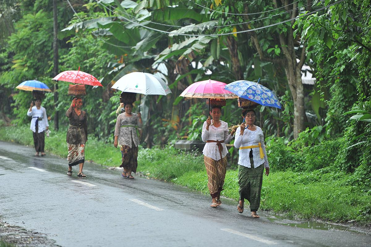 Rainy Season in Beautiful Bali