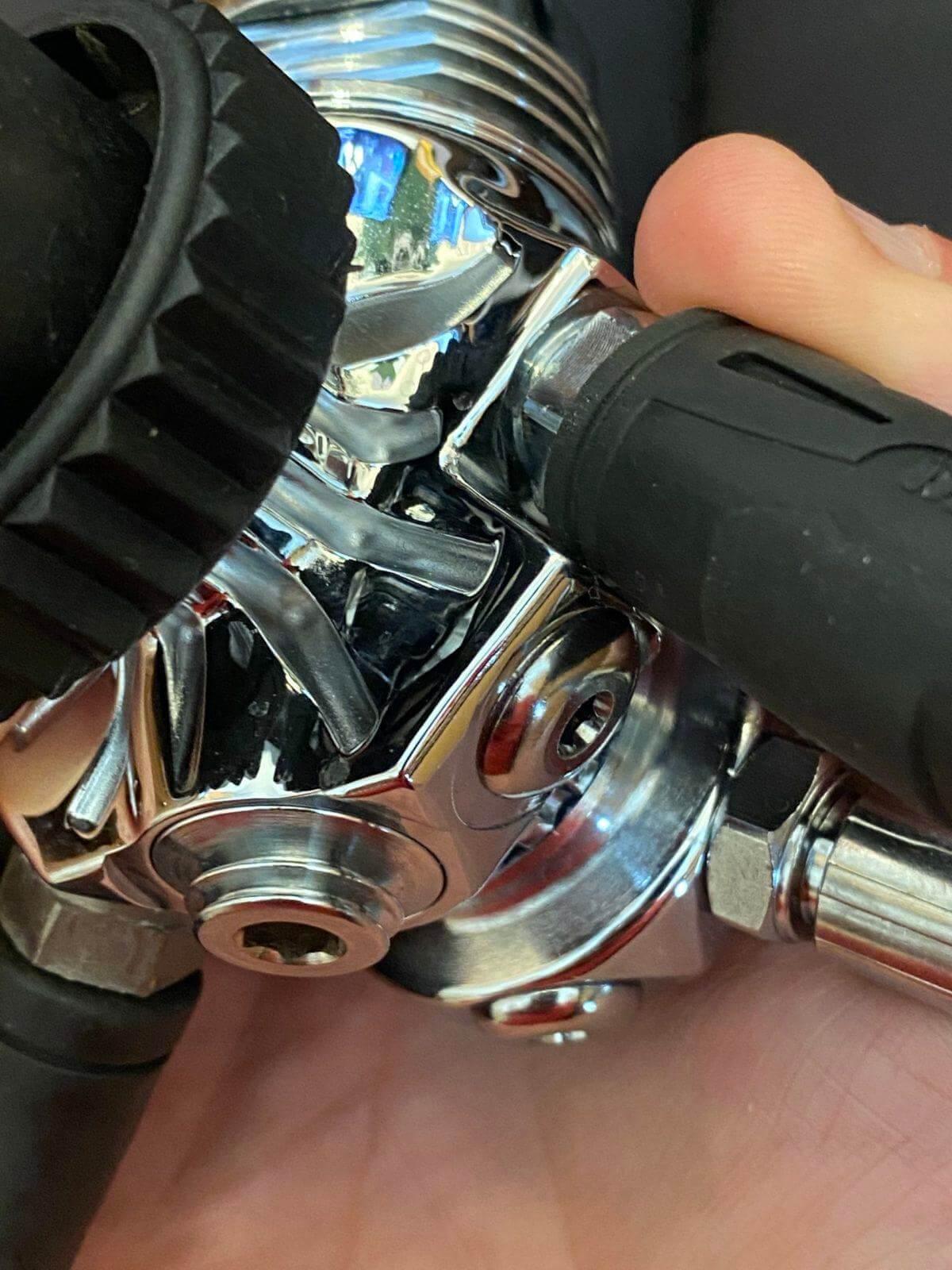 closeup of xDeep NX700 / LS200
