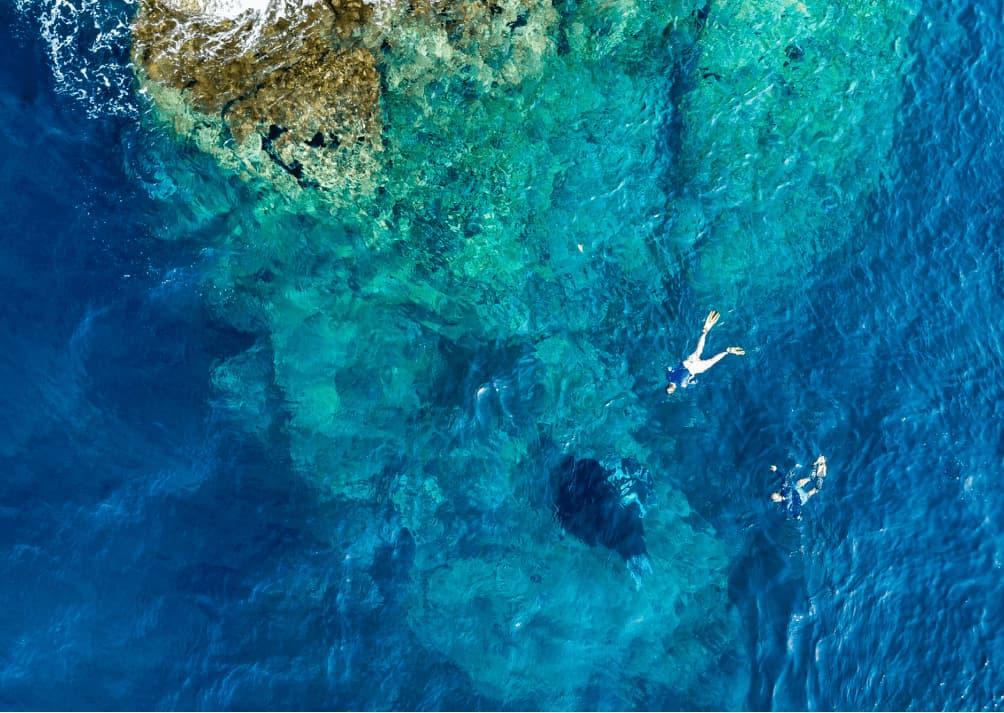 Arial view of Mergui Archipelago
