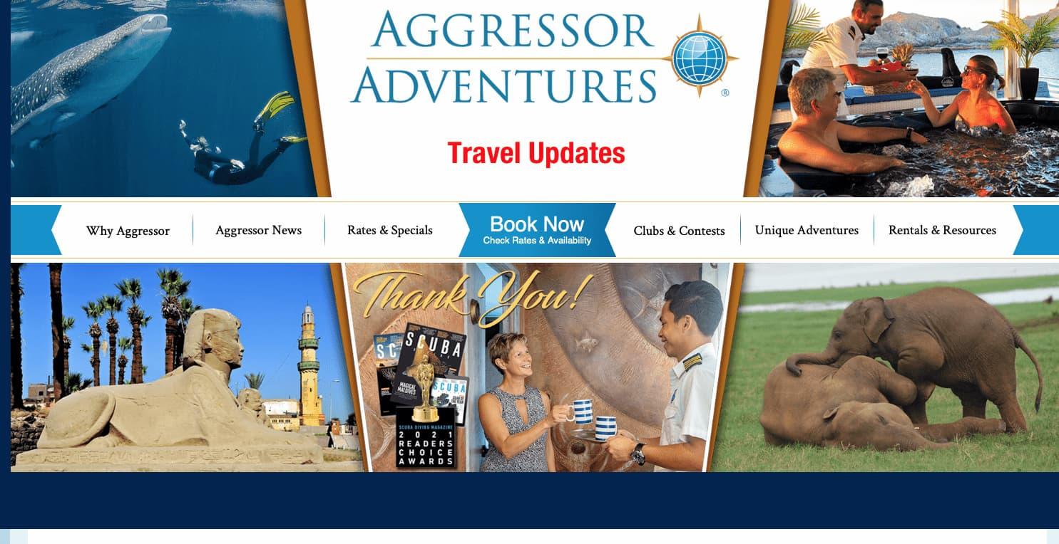 Four Aggressor Adventures