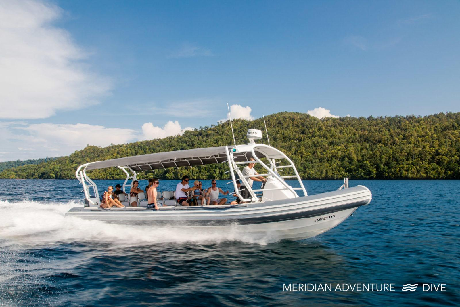 Raja Ampat Dive resort - Join Meridian Adventure Dive.