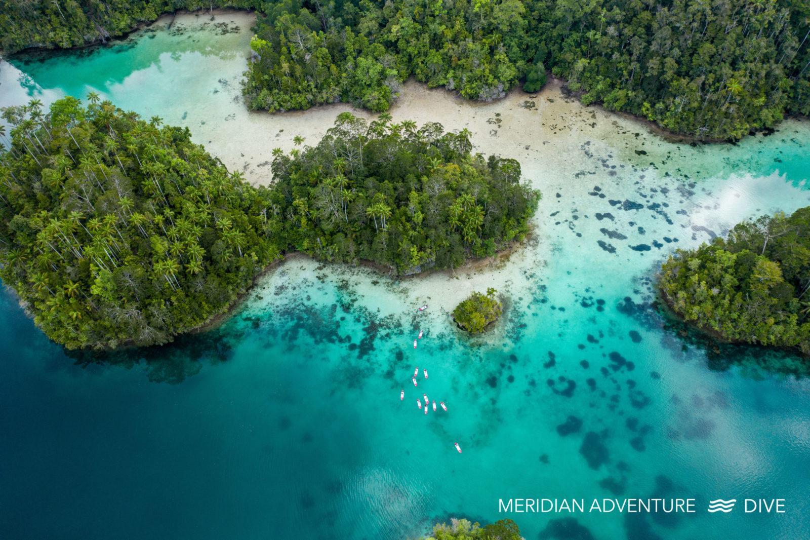 Raja Ampat dive resort - Meridian Adventure Dive.