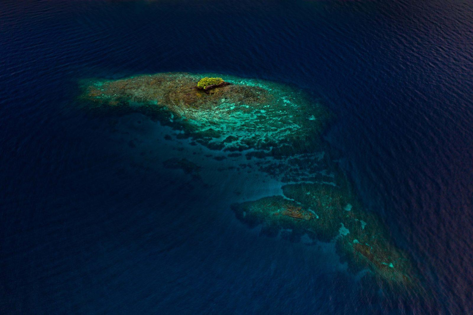 Ann Sophies Reef from the Air by Jackson Groves