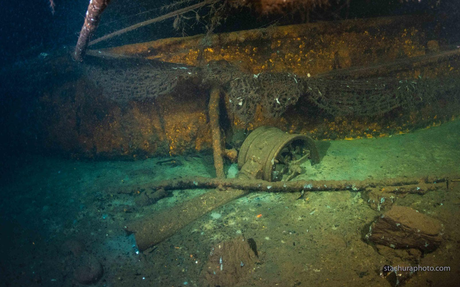 German steamer SS Karlsruhe Shipwreck