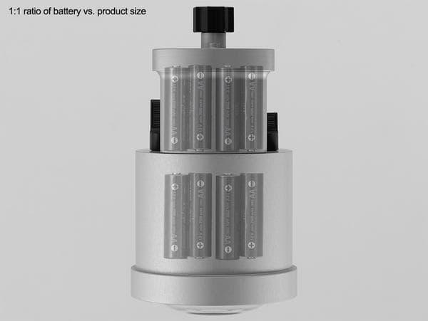 Retra Flash Supercharger top side view batteries