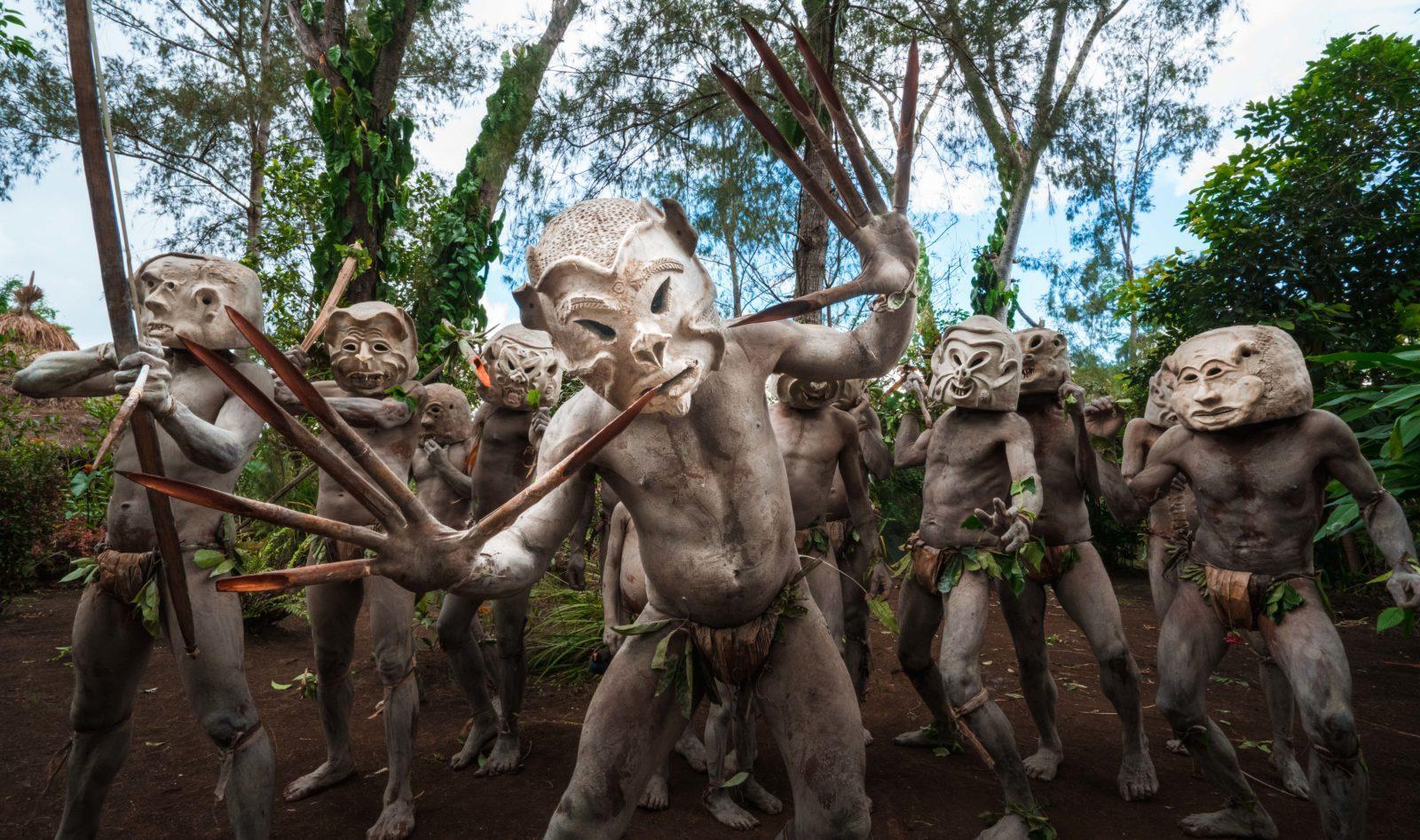 Asaro Mudmen Tribe