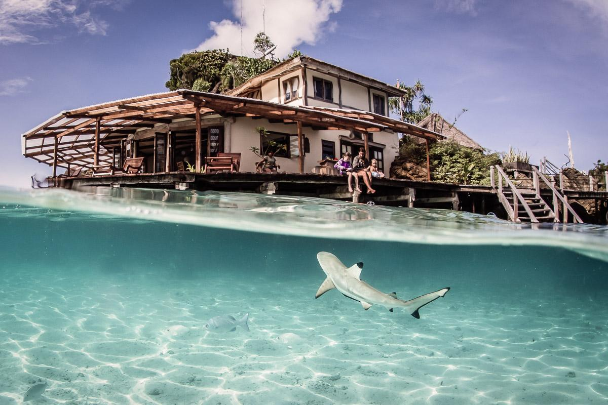 Misool Eco Resort at Raja Ampat, Indonesia