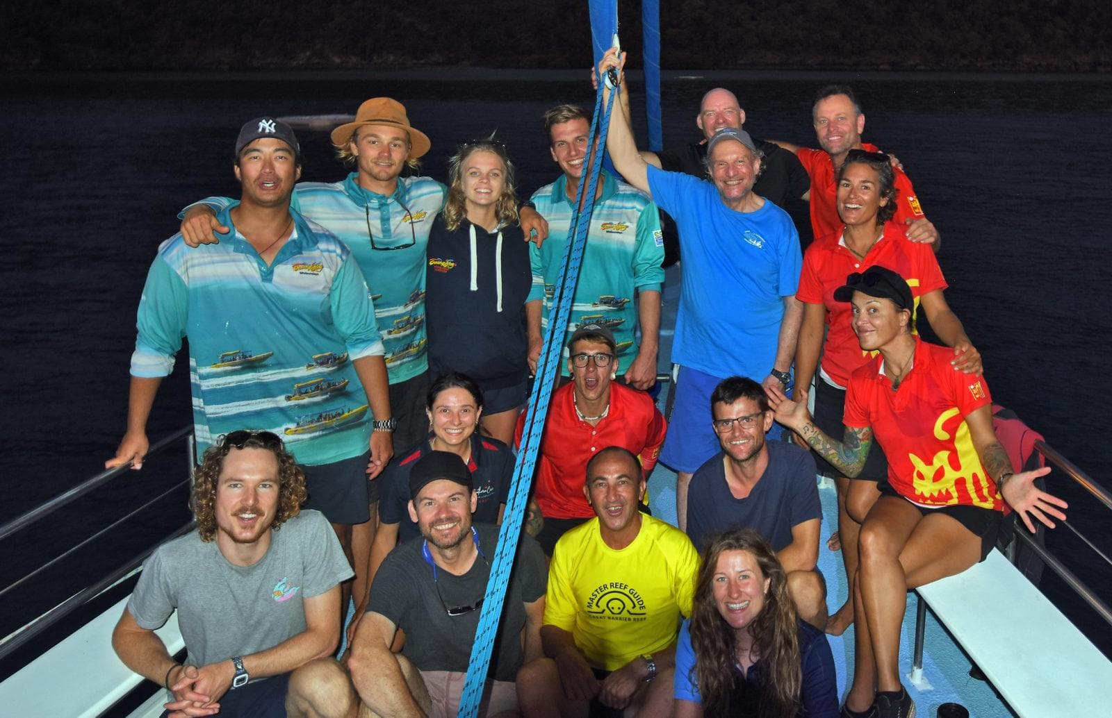 Tourism operators involved in the project. Credit: Great Barrier Reef Foundation