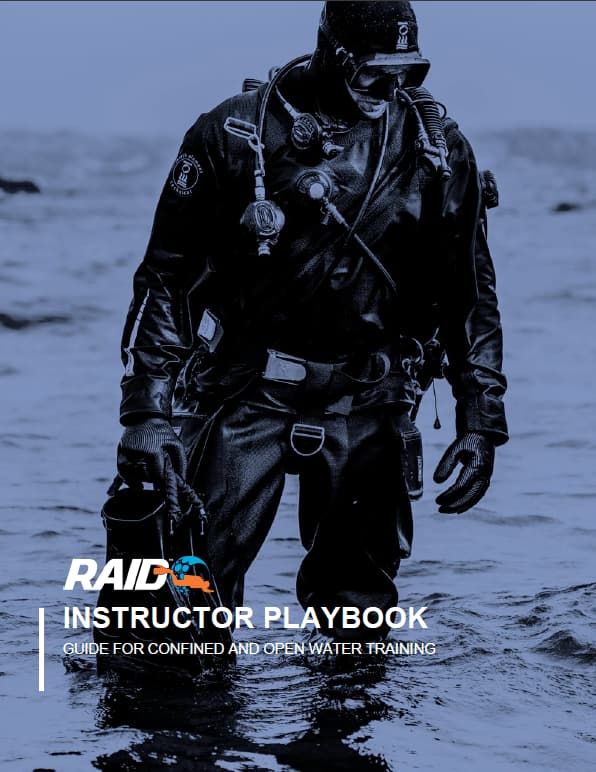 RAID Instructor Playbook - Guide for Confined and Open Water Training