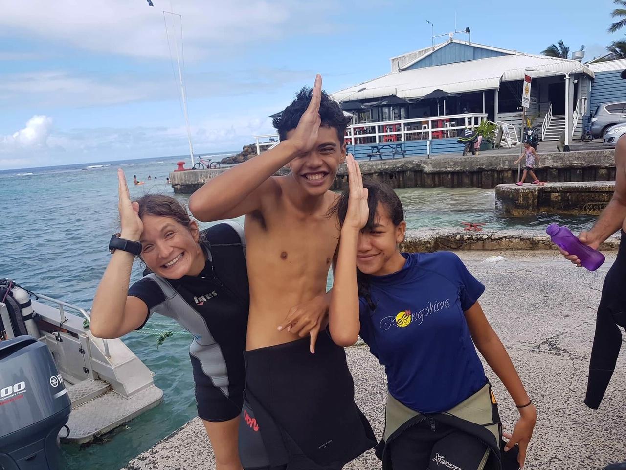 Dive Rarotonga 5 star PADI IDC