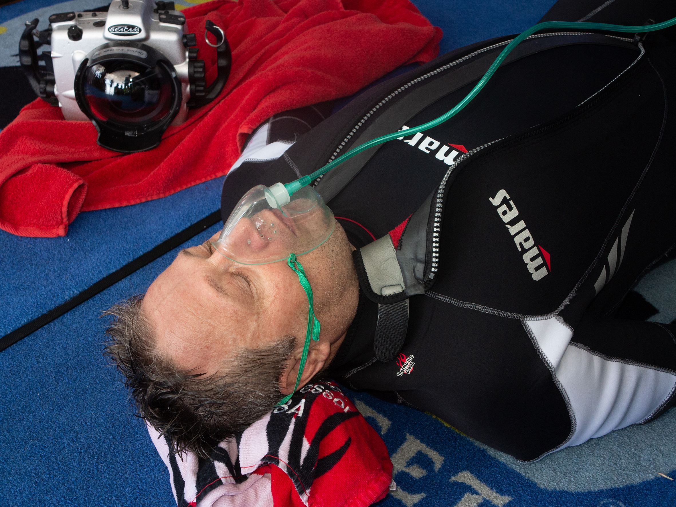 Scuba Diving Emergencies DCI, dehydration or a cardiac event