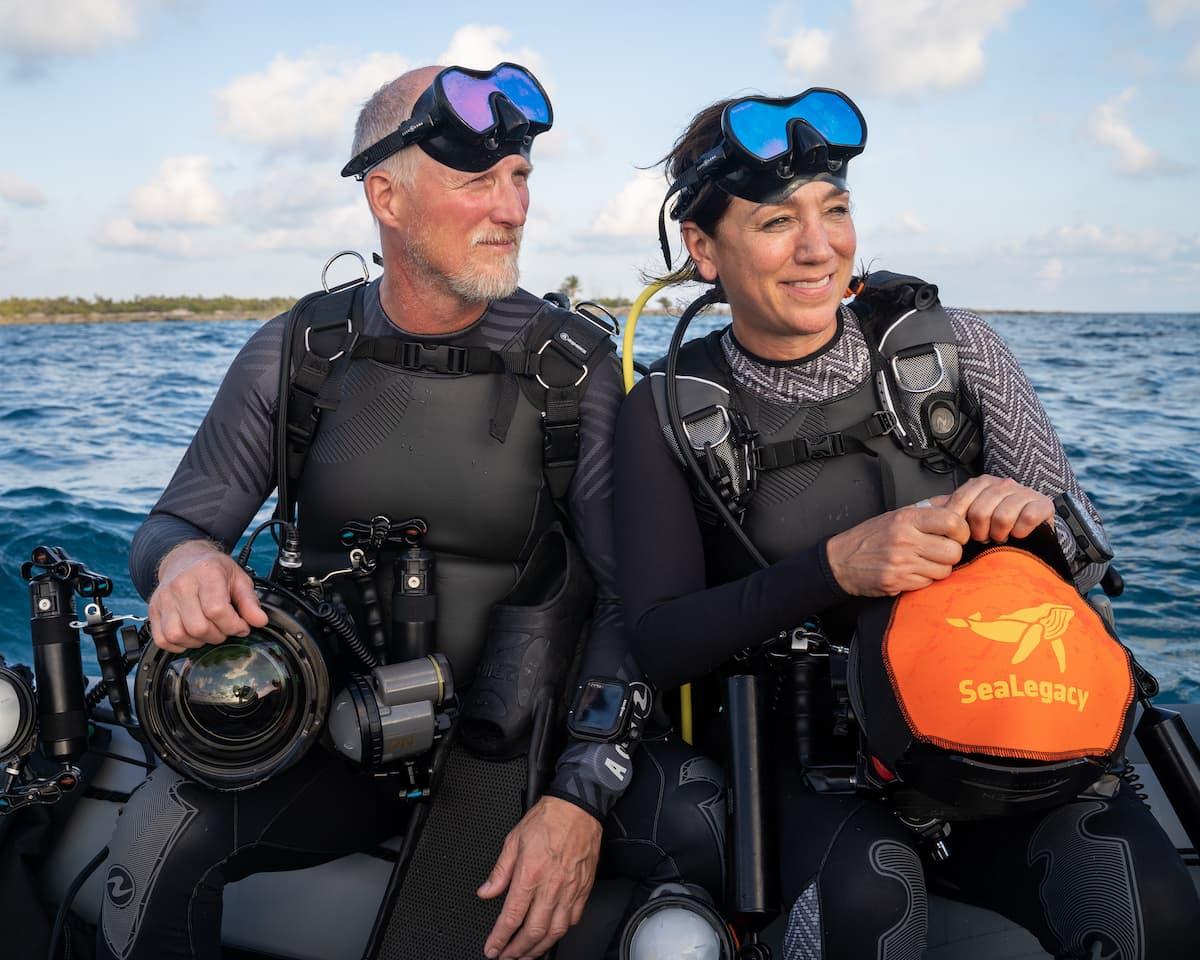 Paul Nicklen Aqua Lung