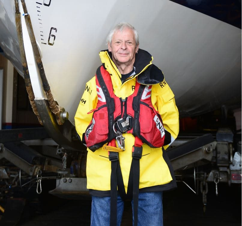 Philip Eaglen, Shore Crew and Mechanic at RNLI Wells-next-the-Sea Lifeboat Station