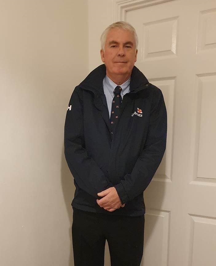 Richard Griffiths, volunteer Lifeboat Operations Manager at Aberystwyth RNLI