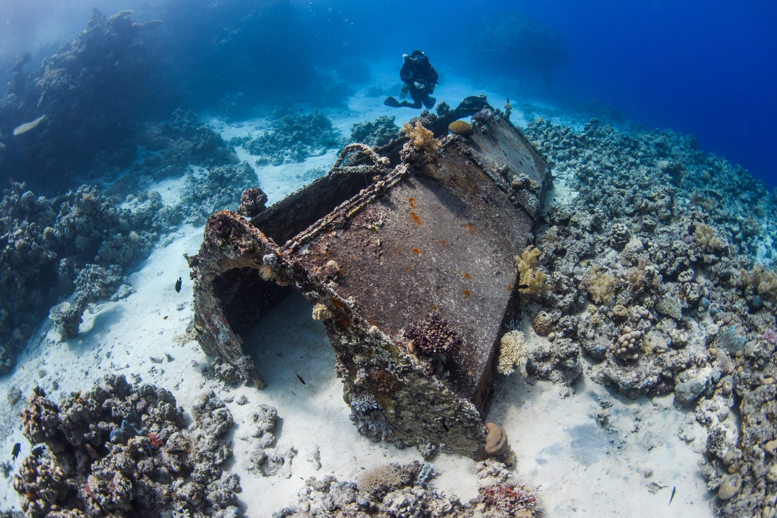 Umbria wreck scuba dive