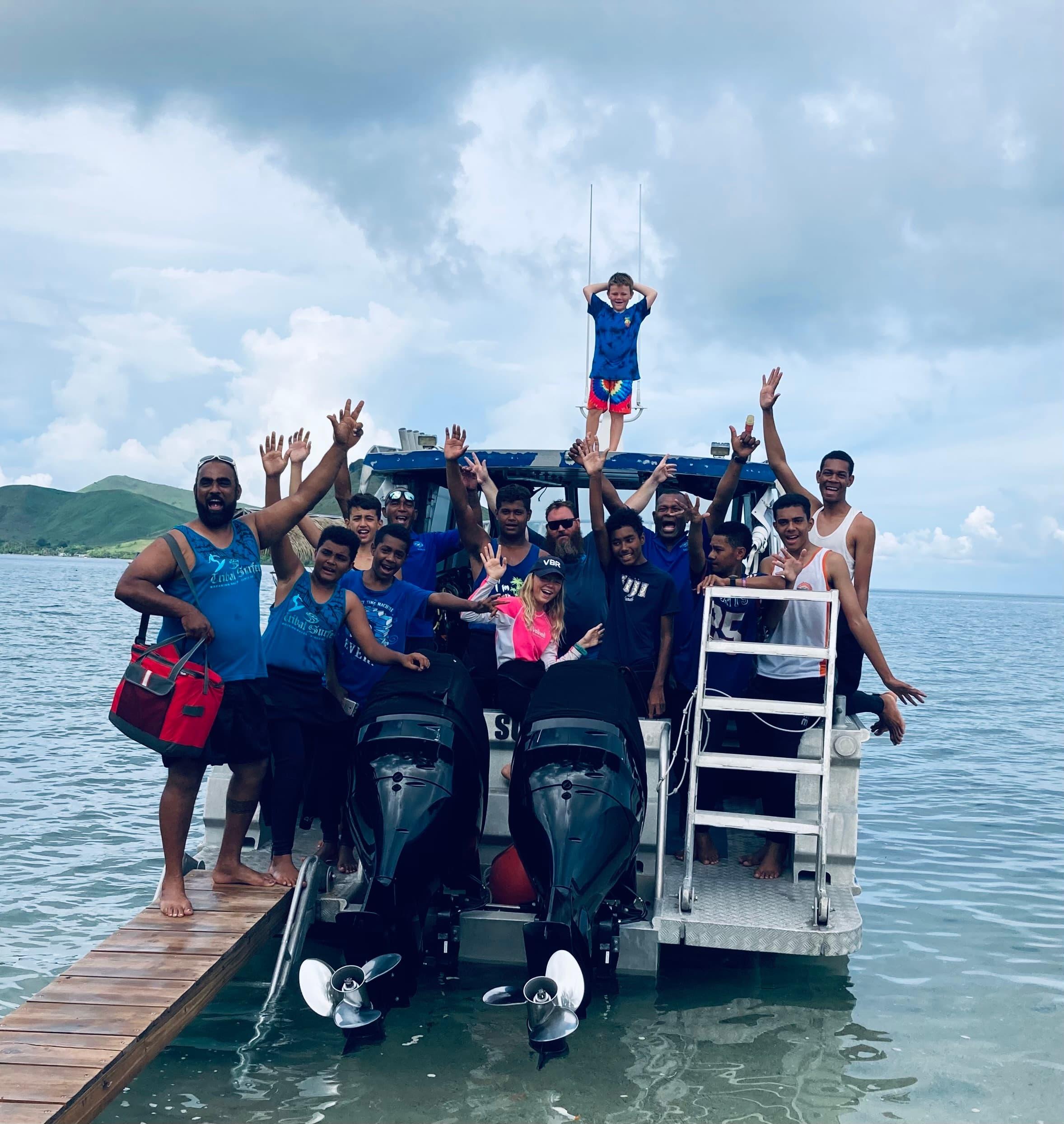 Volivoli Beach Resort FIJI day 4 off to dive the Bligh Water