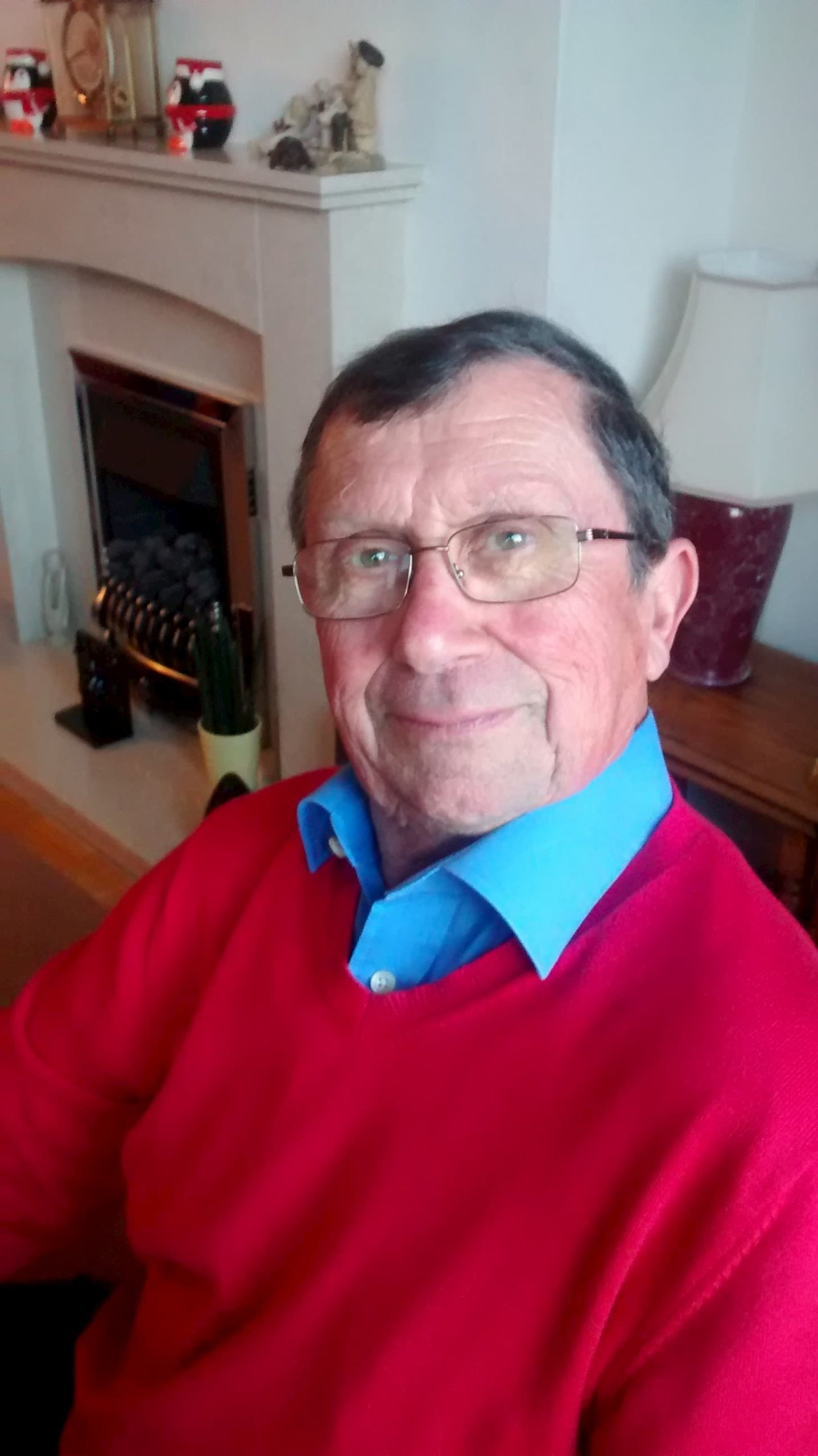Weston-super-Mare Fundraising Branch Chair, Peter Elmont