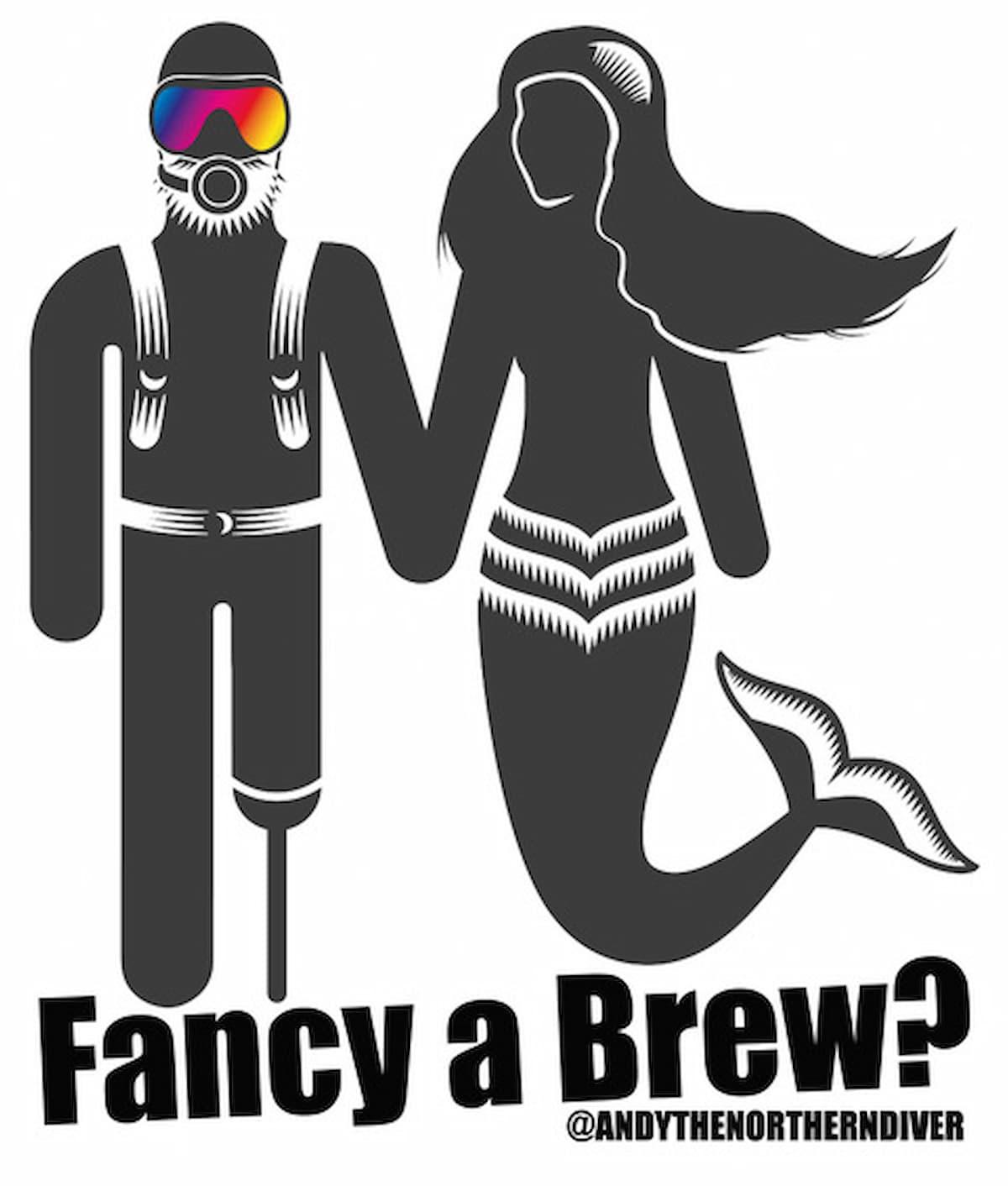 Are you a Scuba Diver - Fancy a Brew? 1