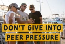 peer pressure diving