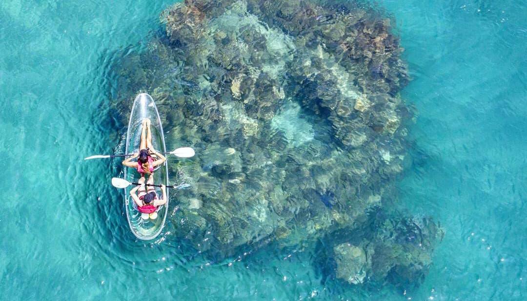 Frankland Islands - Clear Kayak