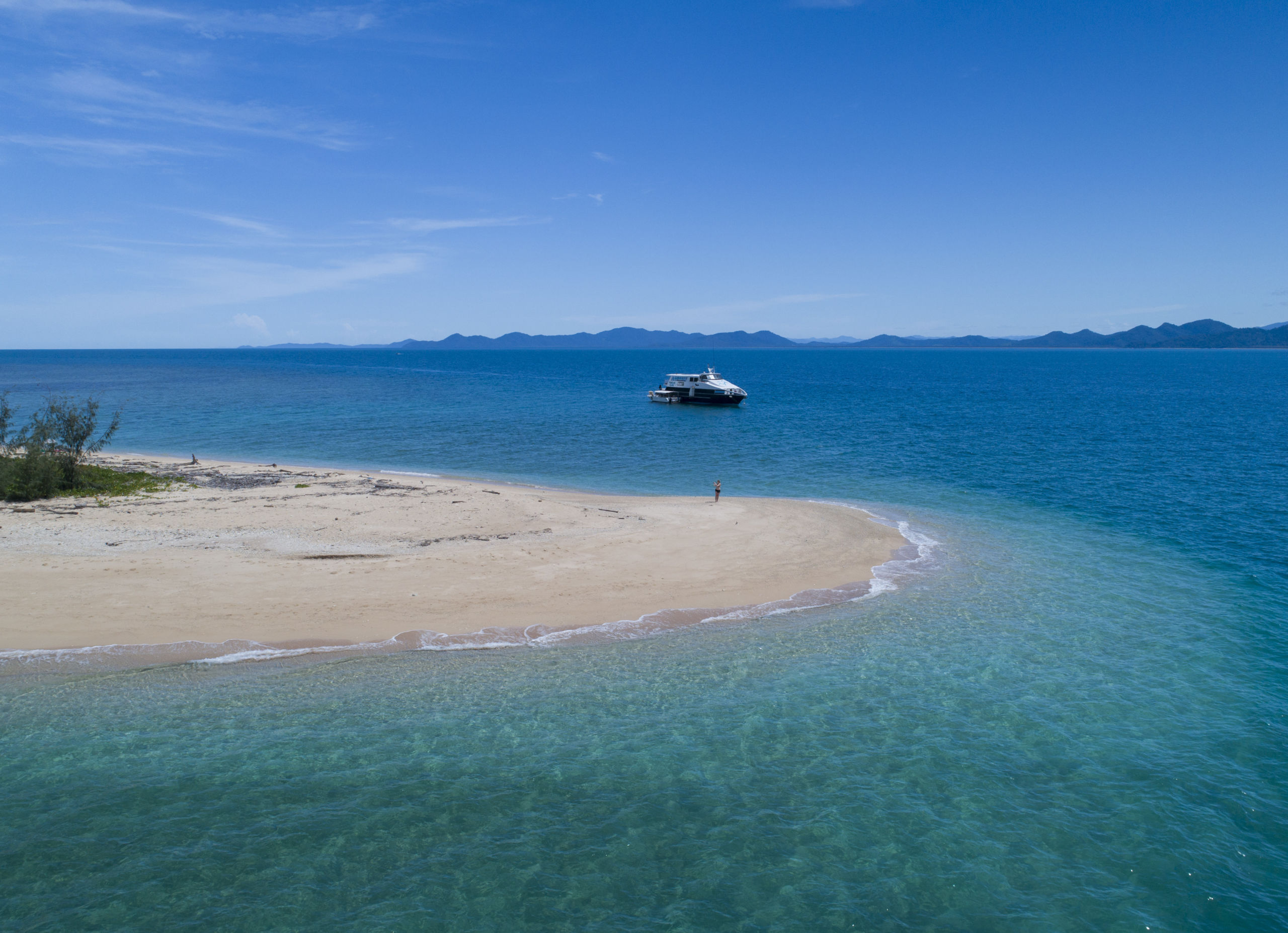 Frankland Islands - New Boat
