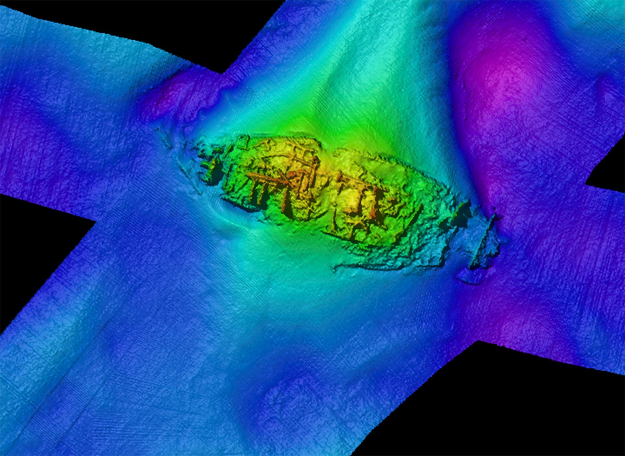 Sidescan sonar of GAD23