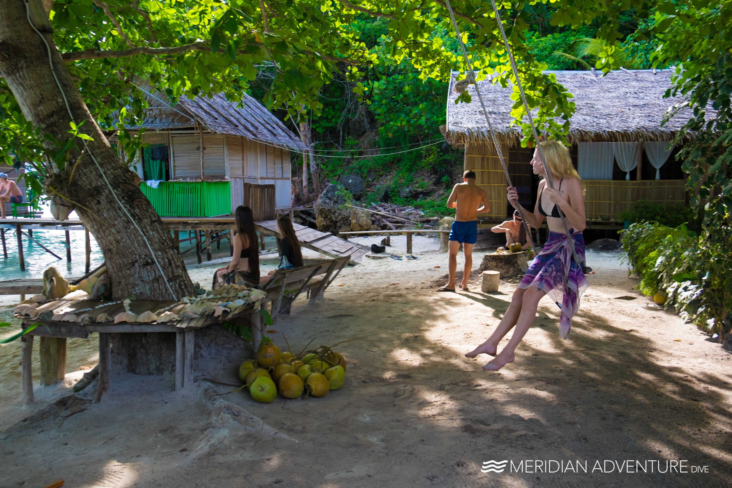 Experience real island life with Meridian Adventure Dive's Homestay Experience.