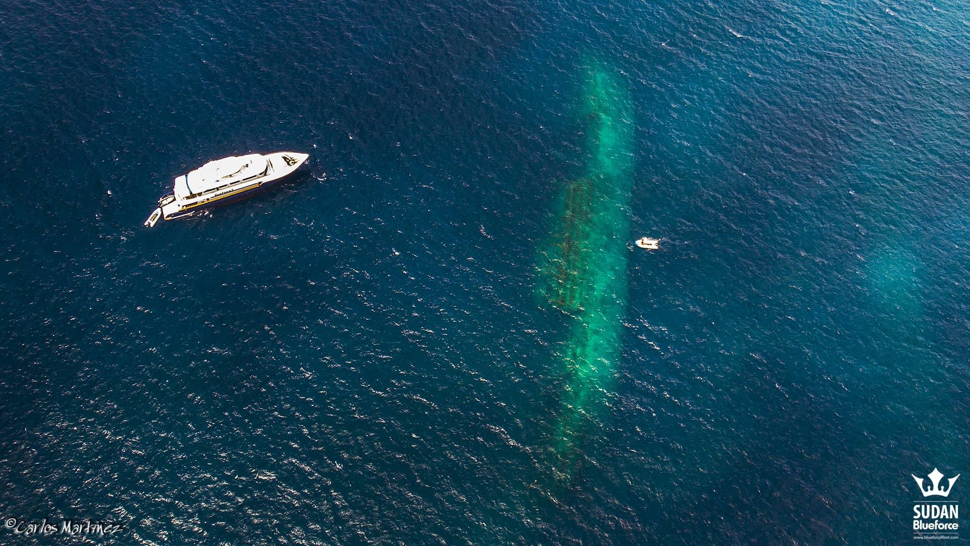 Sudan Diving Umbria Wreck