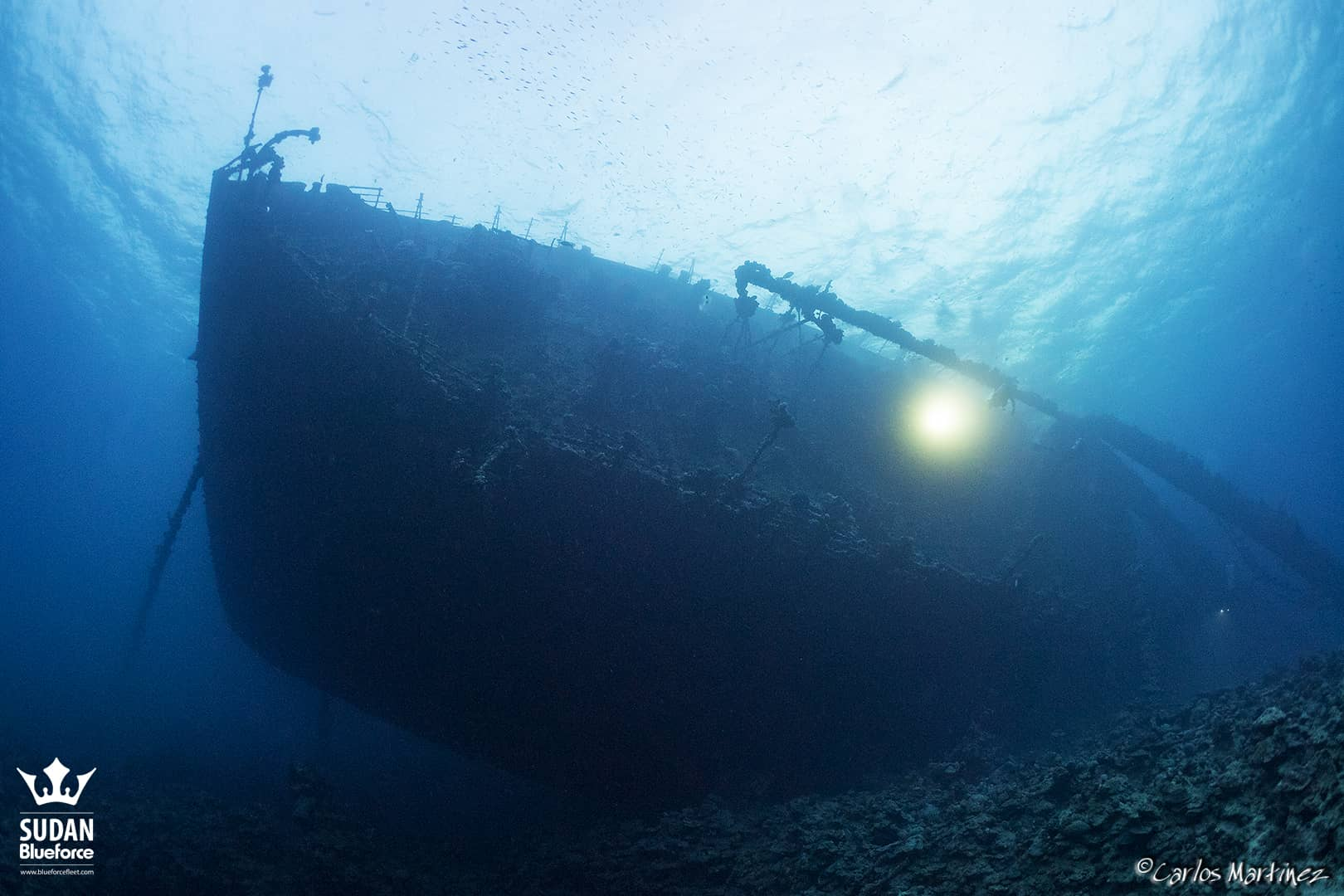 Sudan Diving Umbria Wreck Stern