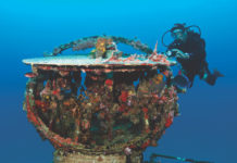 Best wreck diving in the Caribbean
