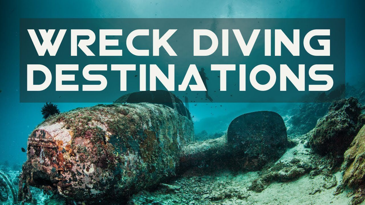 The world's 10 best wreck diving destinations