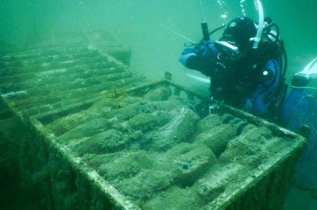 submerged wine