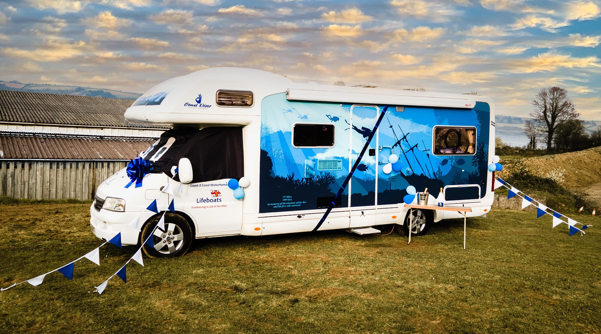 Hire a diving motorhome this summer