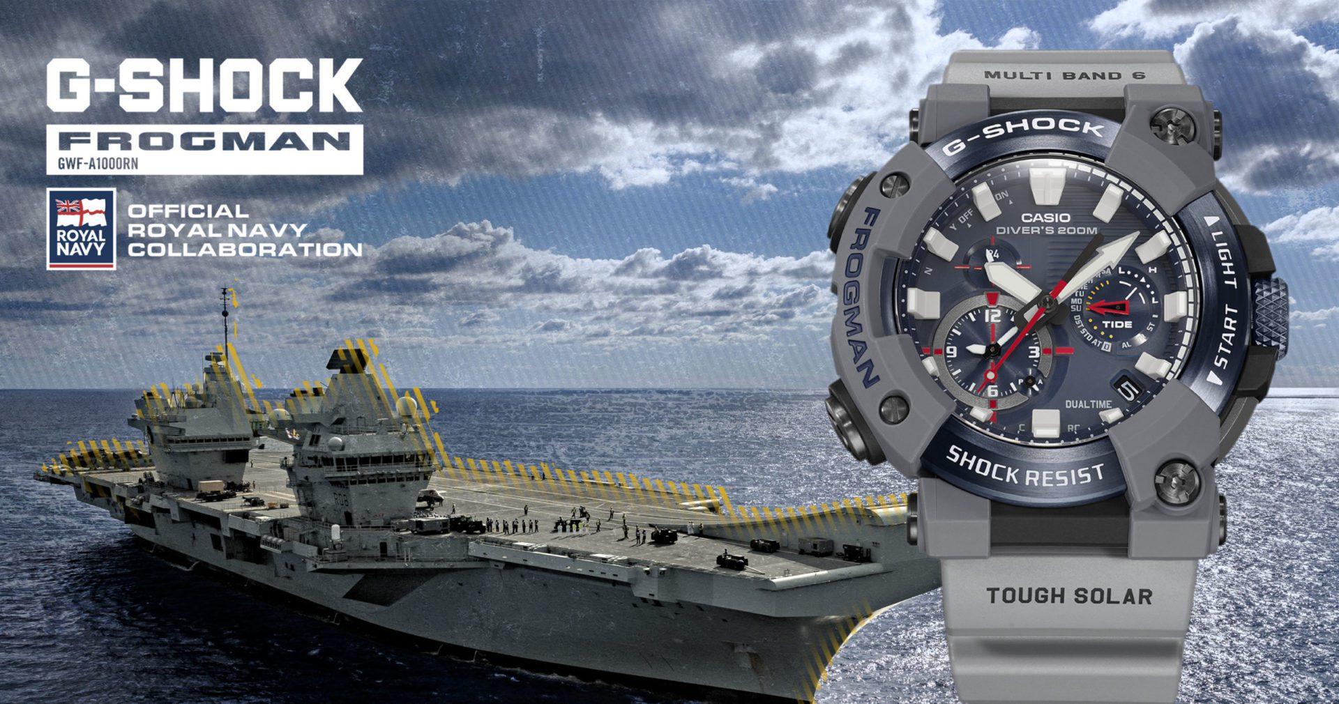 Royal Navy x G-SHOCK