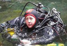 Karen van den Oever nowy rekord Guinnessa w nurkowaniu jaskiniowym kobiet Divers24