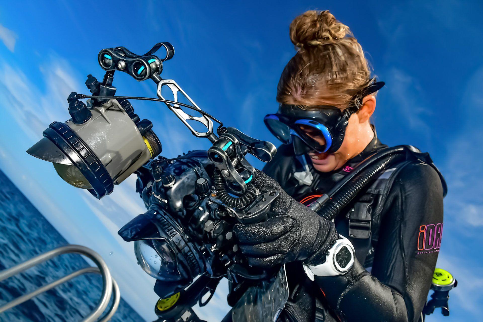 Underwater photographer Best Job in the World