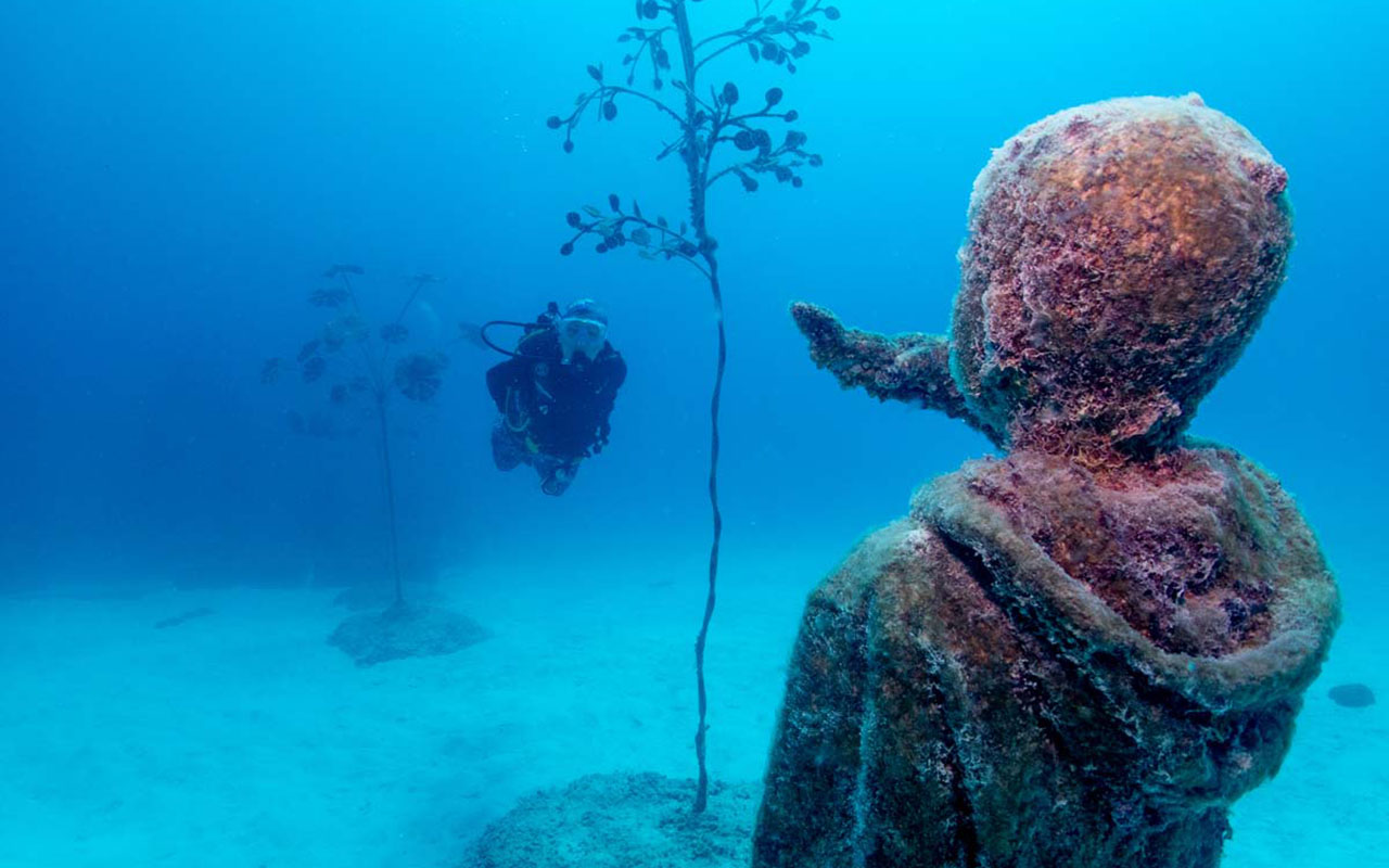 Incredible Museum of Underwater Art