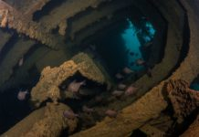Diving The Wreck of the George Kermode with Redboats