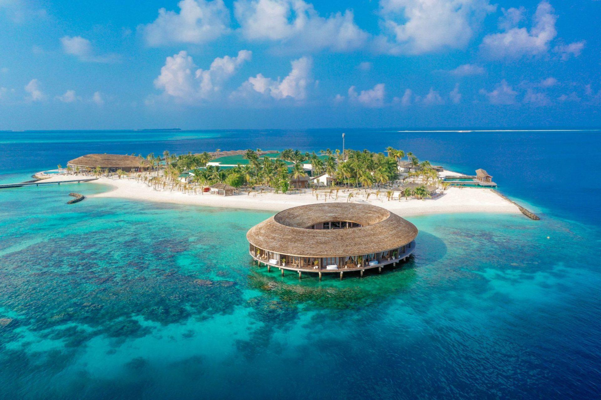 Euro-Divers Maldives conduct turtle release on Kagi