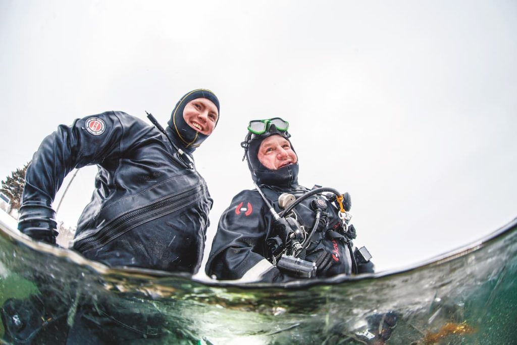 Diving Newfoundland 1